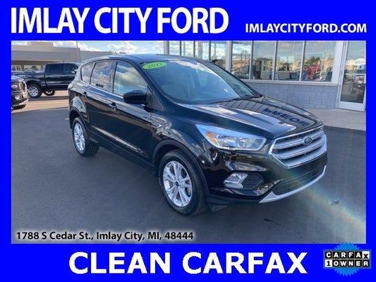 2017 ford escape se in shadow black for sale imlay city mi 1fmcu0gd0hud51825 imlay city ford 2017 ford escape se