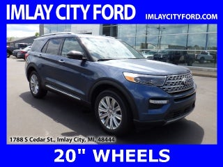 2020 Ford Explorer Lease Deal 272 Mo For 24 Months Imlay City