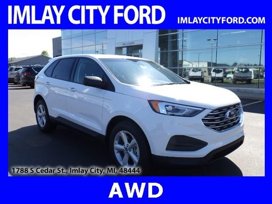 2020 ford edge se 100 in oxford white for sale imlay city mi imlay city ford 2020 ford edge se 100