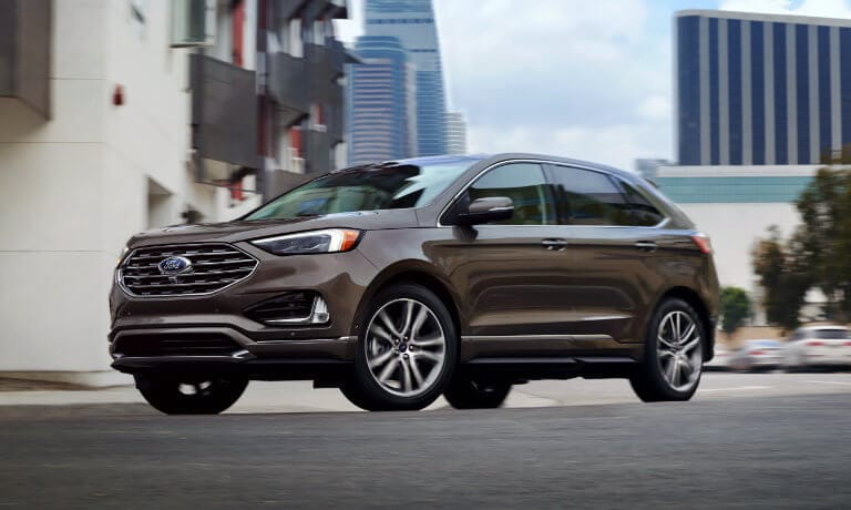 2020 Ford Edge Trim Levels Se Vs Sel Vs Titanium Vs St